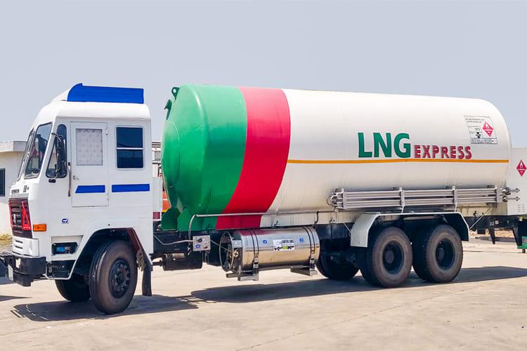 LNG Fuel Tank