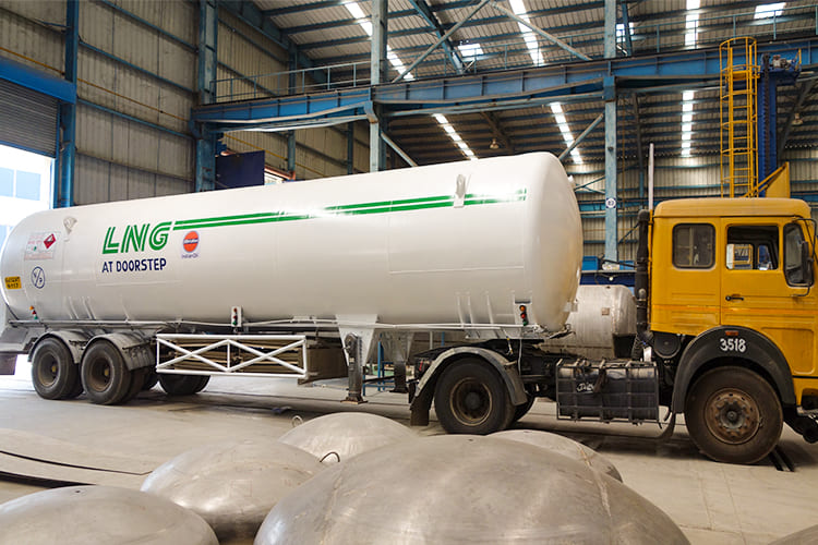 Cryogenic Tanks & Semi-trailers Repair & Refurbishment